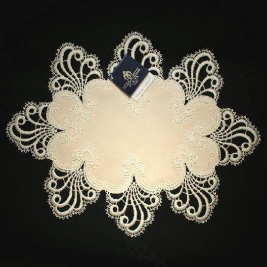 Design Nizza - 30 x 60 cm oval Polyestersatin S