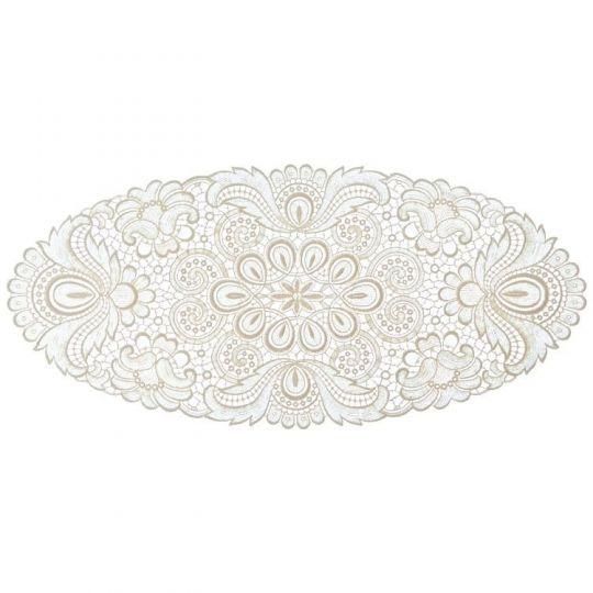 Design Plauen - 30 x 60 cm oval