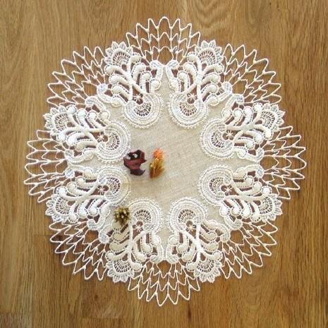 Tischdecke Design Oslo - 32 cm rund