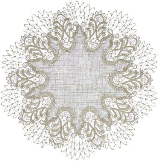 Tischdecke Design Oslo - 42 cm rund