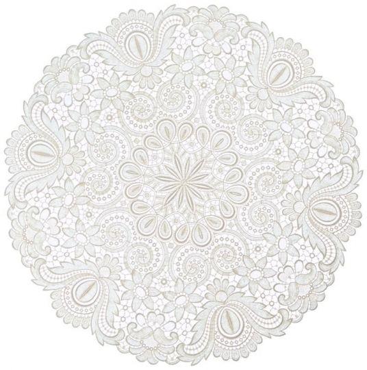 Design Plauen - 60 cm rund
