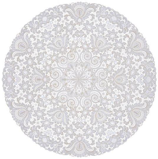 Design Plauen - 90 cm rund
