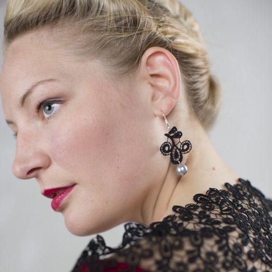 Ohrringe Viviana - Schwarz