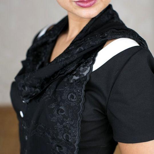 Schal Georgia - Schwarz