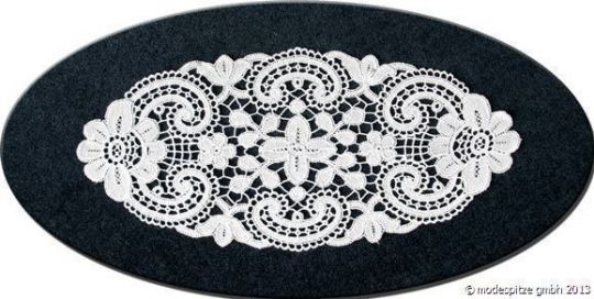 Design Dresden - 15 x 30 cm oval Weiß