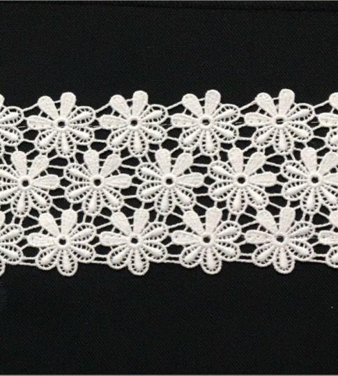 Borte aus Bio-Baumwolle Design 69970- weiss