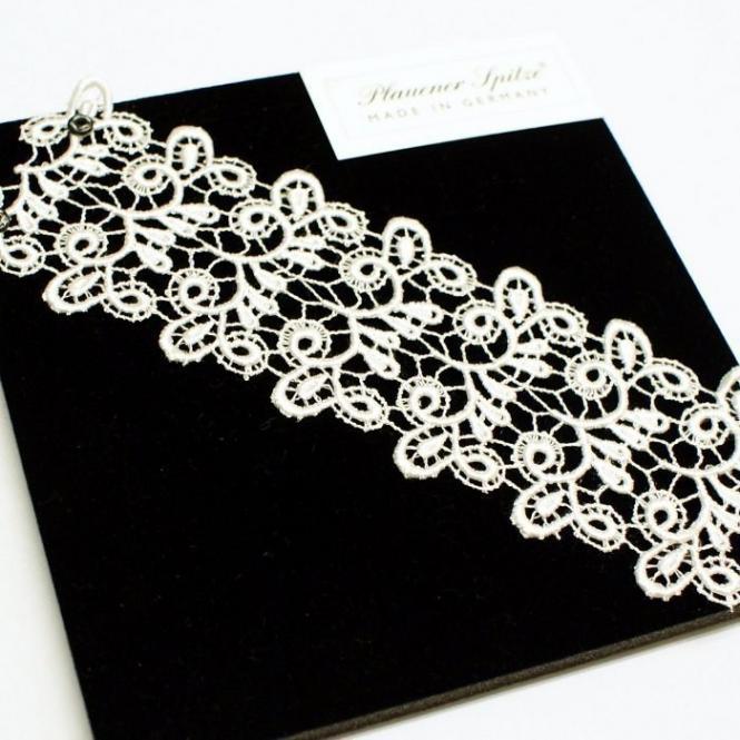 Breites Armband Viviana - Creme