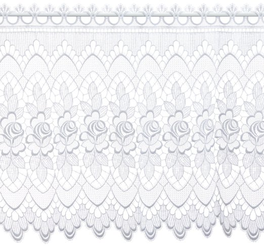 Gardine Design 68264 60 cm | Weiß