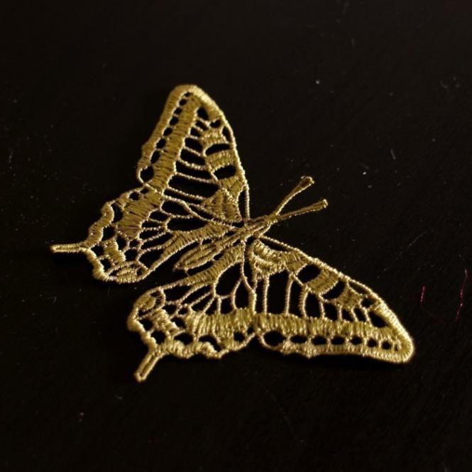 Motiv Schmetterling - Safari Grün