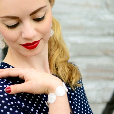 Armband Audrey - Creme