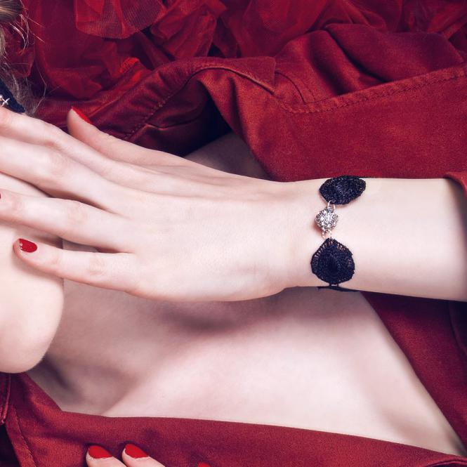Armband Audrey - Schwarz