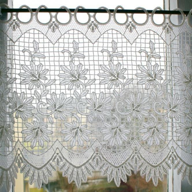 Gardine Design 68124 Weiß
