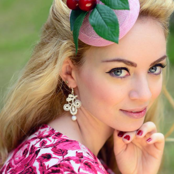 Ohrringe Viviana - Creme