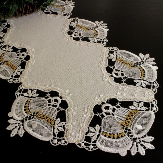 Design Nürnberg - Tischband 32 x 100 cm oval