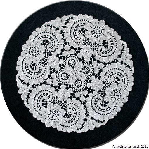 Design Dresden - 22 cm rund Weiß
