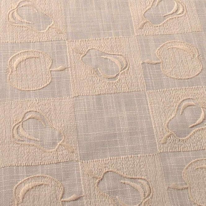 Design Apfel und Birne L (lachs) - 83x83