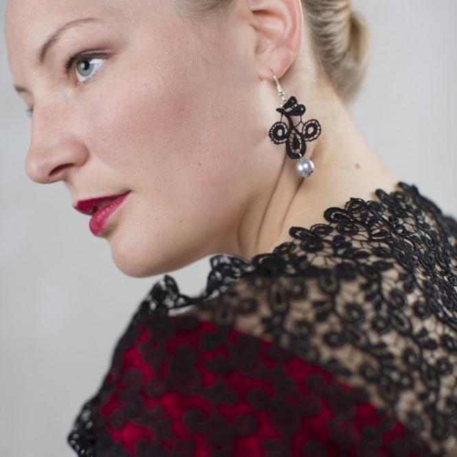 Stola Viviana - Schwarz