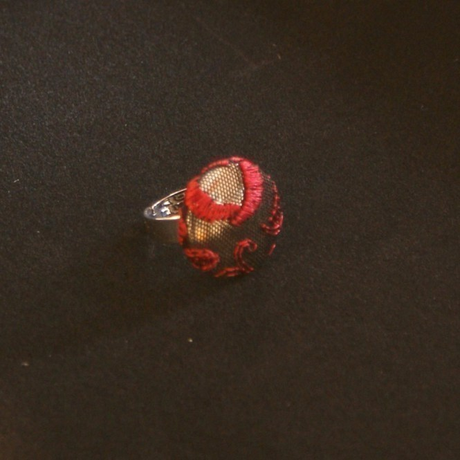 Ring Georgia - rote Spitze