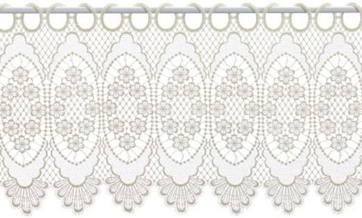 gardine design 68109 30 cm champagner jetzt kaufen. Black Bedroom Furniture Sets. Home Design Ideas