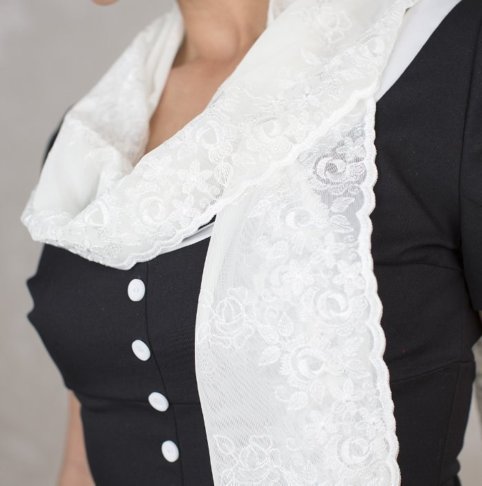 Schal Georgia - Weiß | jetzt kaufen